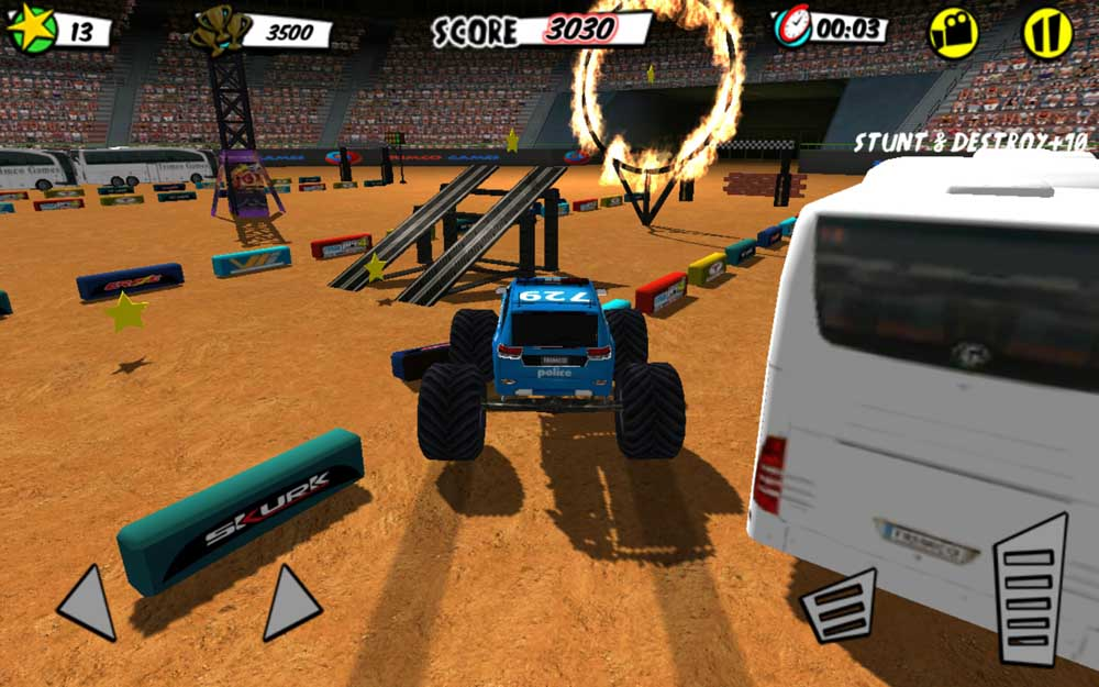 Кадр #1 из игры Football Stadium Truck Battle от TrimcoGames