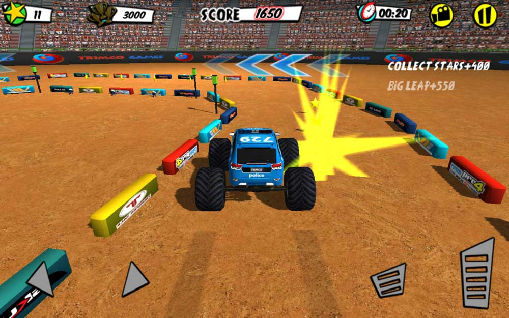 Фото #2 из игры Football Stadium Truck Battle от TrimcoGames